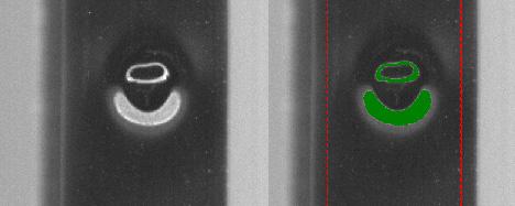 Oberflächeninspektion von zylindrischen Produkten (auch Endlosprodukte)