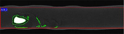 Oberflächenkontrolle Oberflächenschäden auf Kabelmantel